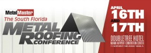 The South Florida Metal Roofing Conference logo